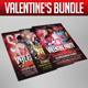 Valentine's Flyer Bundle - GraphicRiver Item for Sale