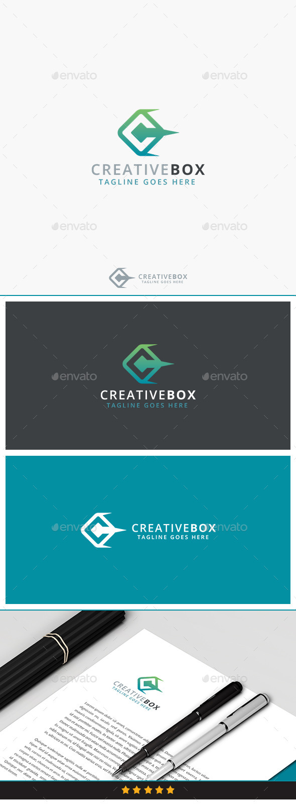 GraphicRiver Creative Box Logo 10186174