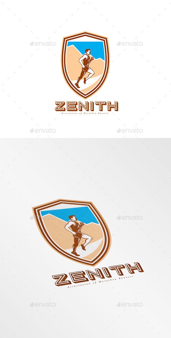 GraphicRiver Zenith Marathon Runners Association Logo 10186242