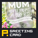 Greeting Card for Mother's Day - GraphicRiver Item for Sale