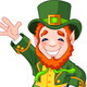 Lucky Dancing Leprechaun - GraphicRiver Item for Sale