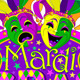 Mardi Gras Masks Design - GraphicRiver Item for Sale