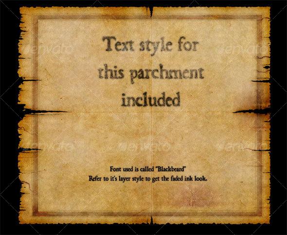 parchment graphicriver