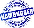 hamburger stamp icon - PhotoDune Item for Sale