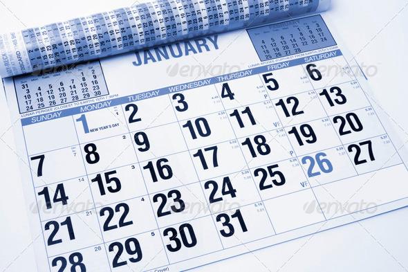 PhotoDune Calendar 1038735