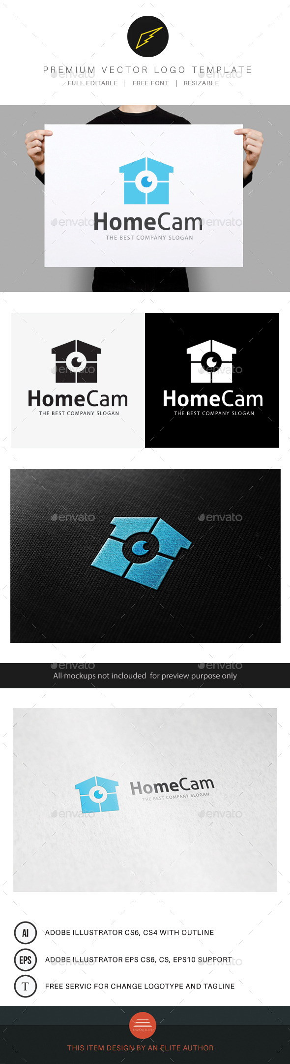GraphicRiver Home Cam 10186334