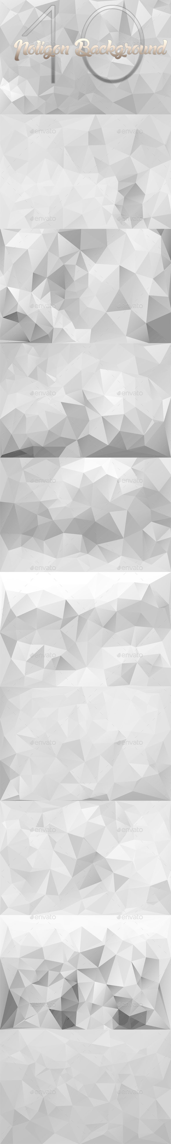 GraphicRiver 10 Backgrounds Polygon Part 9 10186349