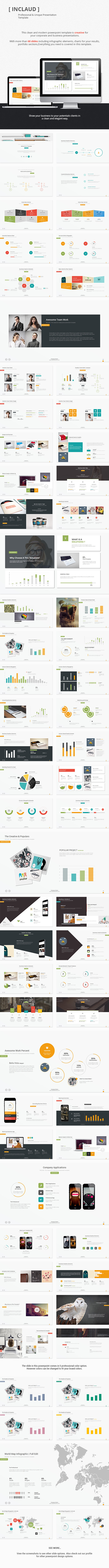 GraphicRiver Claude Clean & Professional Template 10137105