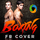 Boxing Competition Facebook Cover - GraphicRiver Item for Sale