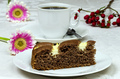 Homemade cocoa cake with cream cheese - PhotoDune Item for Sale