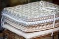 Linen chair pillows pile - PhotoDune Item for Sale