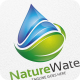 Water & Leaf -  Logo Template - GraphicRiver Item for Sale