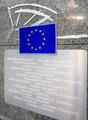 European Parliament entry sign - PhotoDune Item for Sale