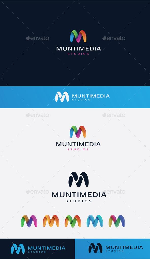 GraphicRiver M Letter Logo 10080465