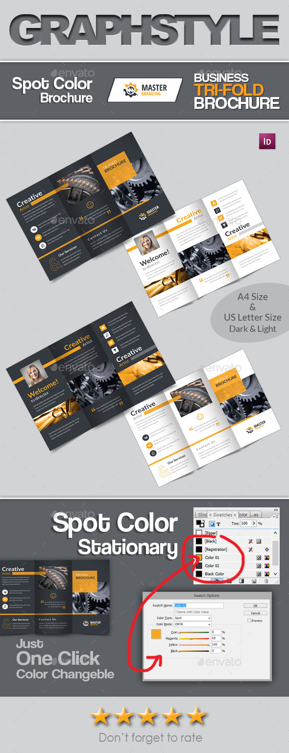 Master Business Tri Fold Brochure