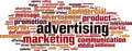 Advertising Word Cloud Concept - PhotoDune Item for Sale