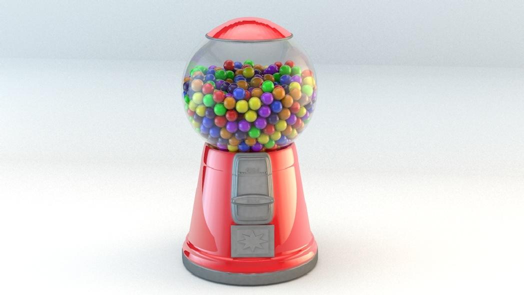 3DOcean Basic gumball machine 1026718