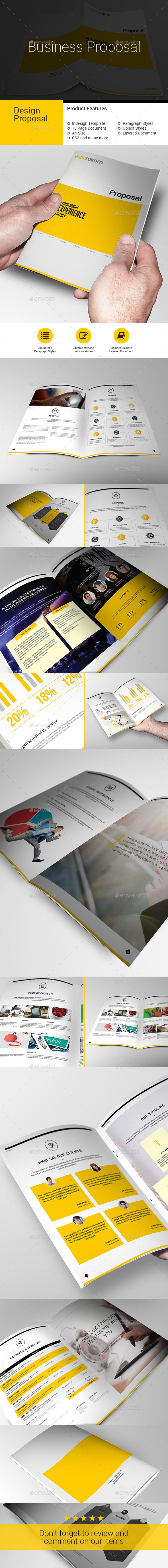 GraphicRiver Business PROPOSAL 10149075