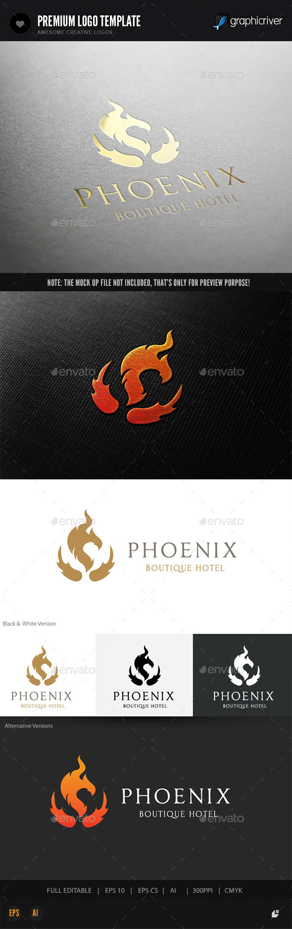 GraphicRiver Phoenix Boutique Hotel 10186897