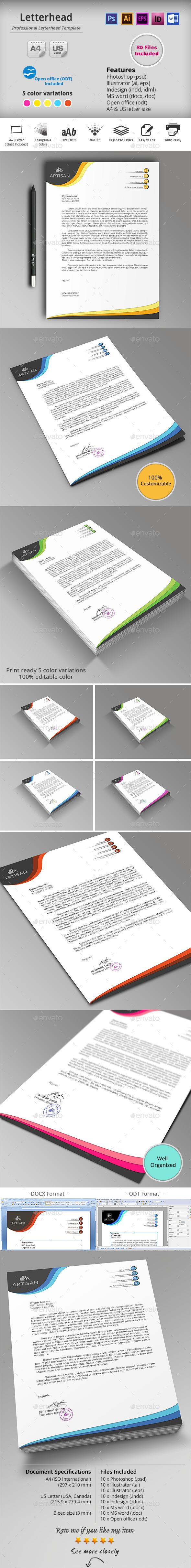 GraphicRiver Letterhead 10186961