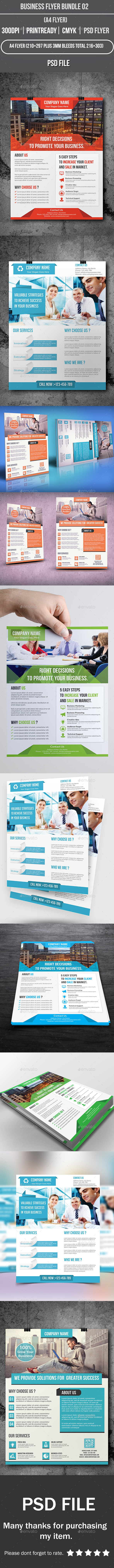 GraphicRiver Business Flyer Bundle 02 10146909