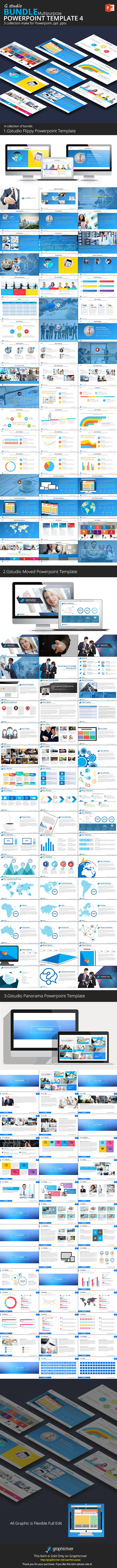 GraphicRiver Gstudio Powerpoint Bundle 4 10187118