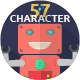 57 Character Expression - GraphicRiver Item for Sale