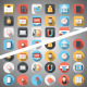 Bussiness Flat Icons - VideoHive Item for Sale