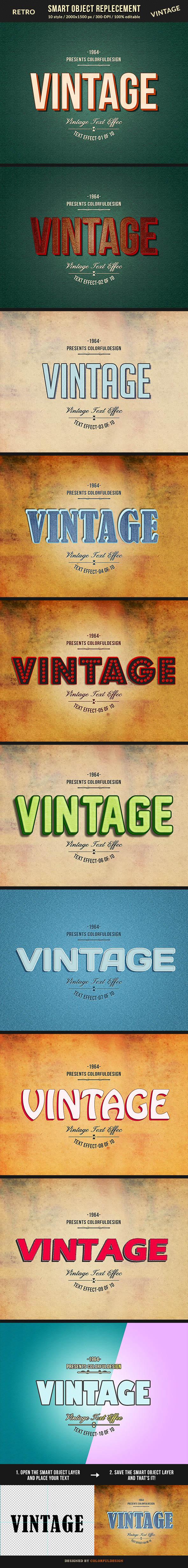 GraphicRiver Retro Vintage Text Effects 10187529