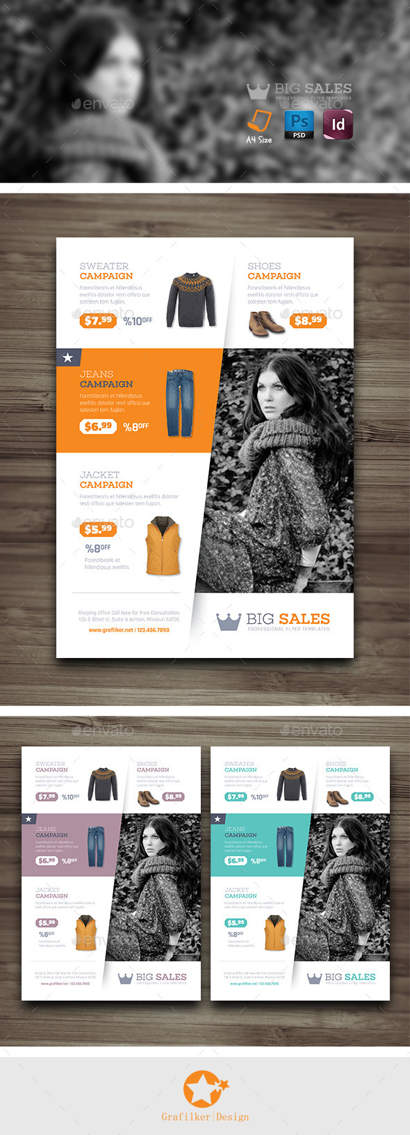 GraphicRiver Shopping Flyer Templates 10188851