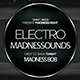 Electro Madness Facebook Cover Vol.II - GraphicRiver Item for Sale