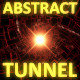Glowing Abstract Tunnel Red - VideoHive Item for Sale