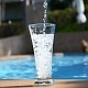 Pouring Water in Glass near Pool - VideoHive Item for Sale