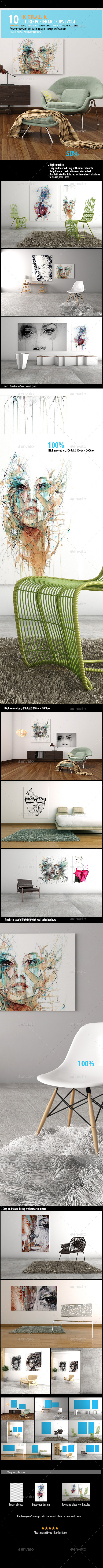 Picture Poster Mockups [vol 4]
