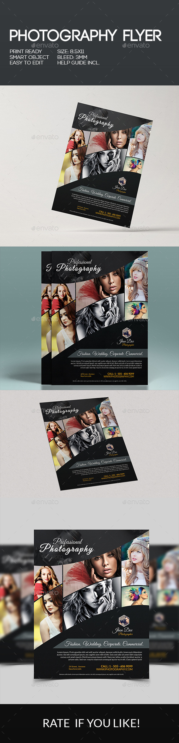 GraphicRiver Photography Flyer 10190097