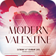 Modern Valentine Flyer - GraphicRiver Item for Sale
