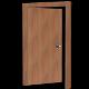 Door nr.05 (wooden office door, uv textured) - 3DOcean Item for Sale