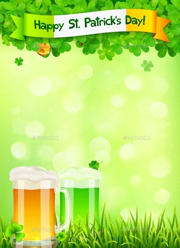 GraphicRiver St Patricks Day Leaflet 10190793