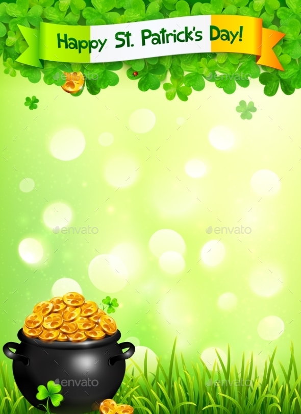 GraphicRiver St Patricks Day Leaflet 10190795