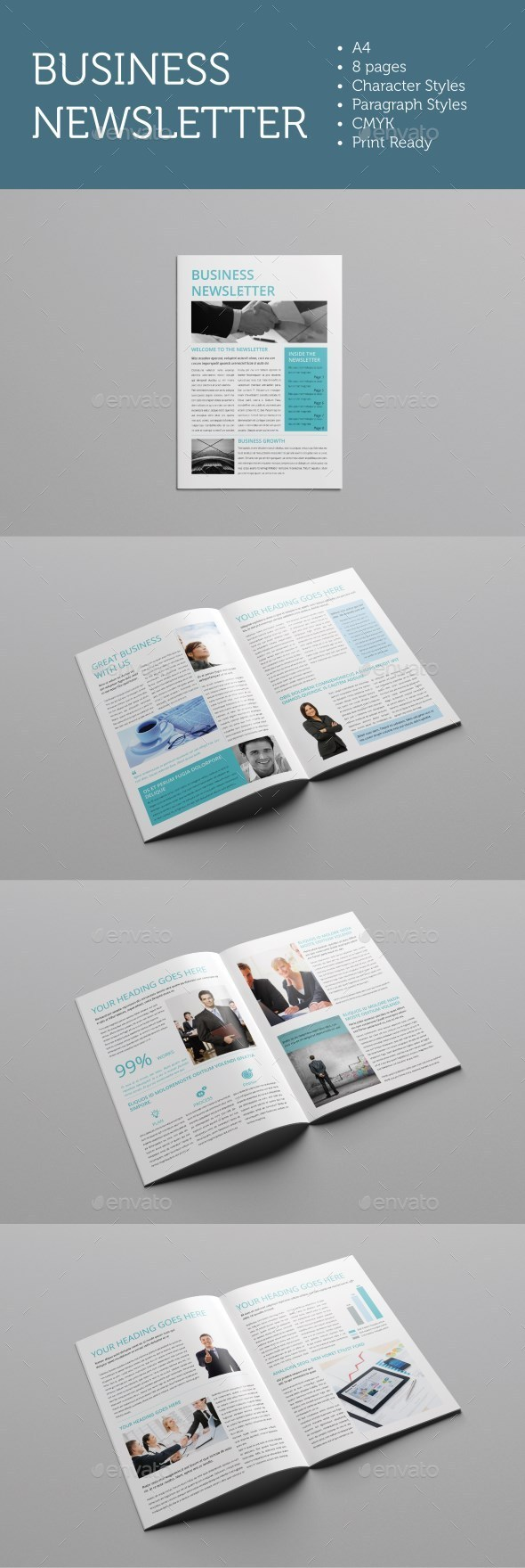 GraphicRiver Business Newsletter 9694132