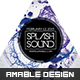 Splash Sound Flyer - GraphicRiver Item for Sale