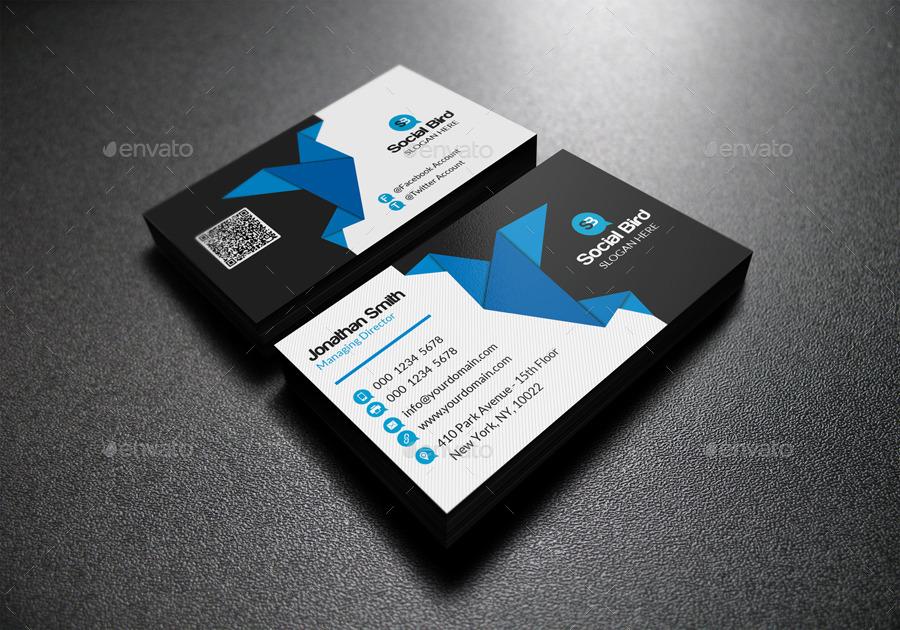 Social Media Business Card 72 by far star60