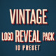 Vintage Logo Opener Pack - VideoHive Item for Sale