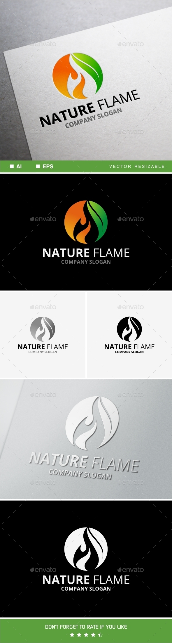 GraphicRiver Nature Flame 10191009