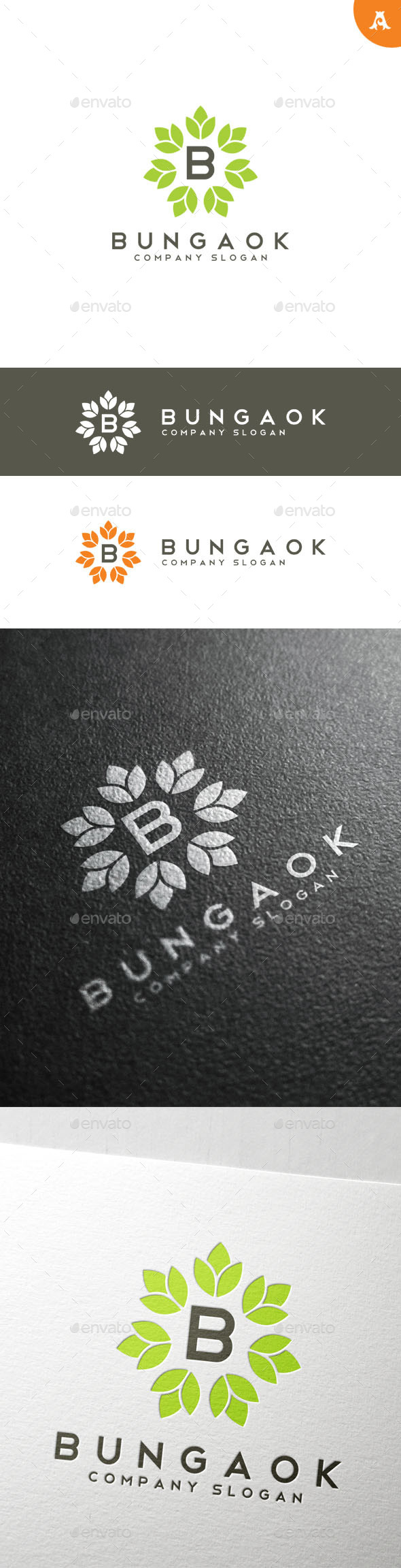 GraphicRiver Bungaok Logo 10191021