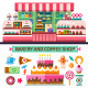 Bakery and Coffee Shop - GraphicRiver Item for Sale