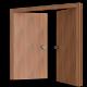 Door nr.08 (wooden double door, uv textured) - 3DOcean Item for Sale