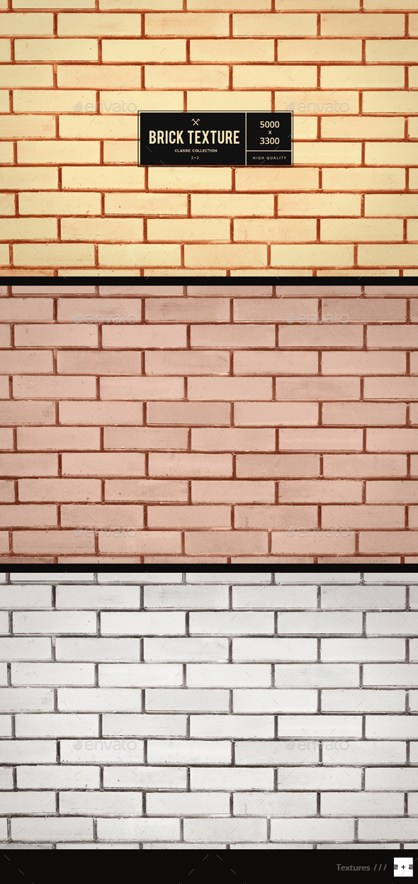 GraphicRiver Golden Brick Wall 10191223