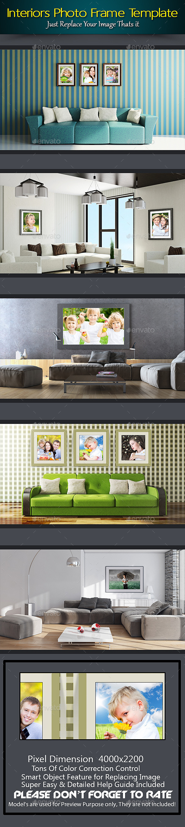 GraphicRiver Interiors Photo Frame Template 10191229