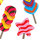 Candy Sticks - GraphicRiver Item for Sale